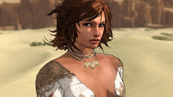 Elika is a beautiful but deadly ally in 'Prince of Persia'