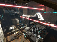 Dual laser action from Portal 2