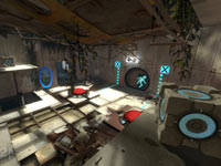 New gameplay challenges in Portal 2