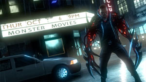 James Heller showing what a monster he can be in Prototype 2 Blackwatch Collector's Edition
