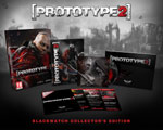 The Prototype 2 Blackwatch Collector's Edition box contents