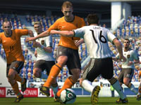 Evasive dribbling in Pro Evolution Soccer 2011