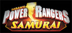 Power Rangers Samurai game logo