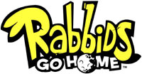 Rabbids Go Home game logo