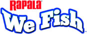 'Rapala: We Fish' game logo