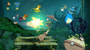 Rayman Origins gameplay screenshot
