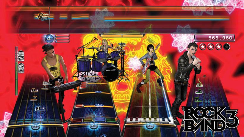 Amazon com: Rock Band 3 Wireless Keyboard for Xbox 360