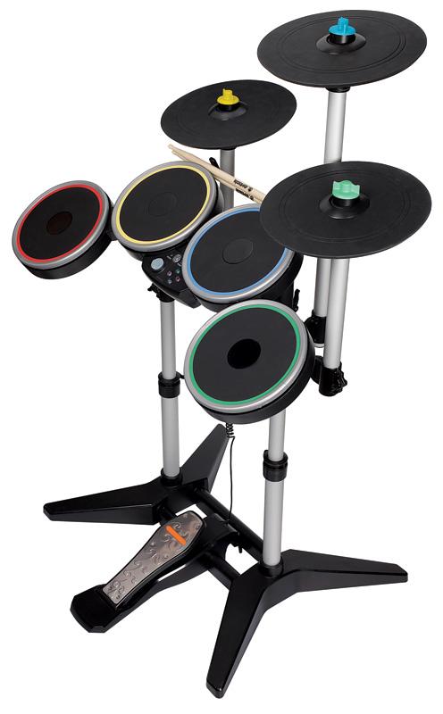 Amazon Com Rock Band 3 Wireless Pro Drum And Pro Cymbals