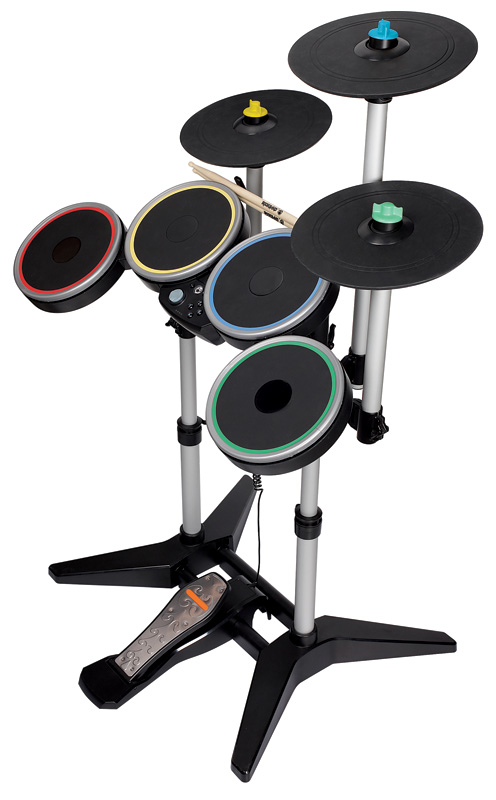 Amazon.com: Rock Band 3 Wireless Pro-Drum and Pro-Cymbals
