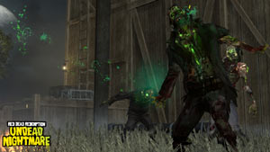 The zombie undead rising in Red Dead Redemption: Undead Nightmare