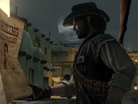 Single player campaign screen from Red Dead Redemption: Undead Nightmare