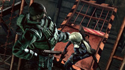 Online versus mode screenshot from Resident Evil 5 Gold Edition
