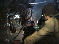 Defending yourself against attacking J'avo in Resident Evil 6