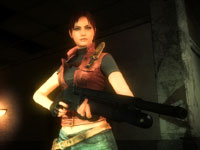 Claire Redfield from the online Heroes Mode of Resident Evil: Operation Raccoon City