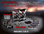 Resident Evil: Operation Raccoon City Limited Edition Limited Edition box contents