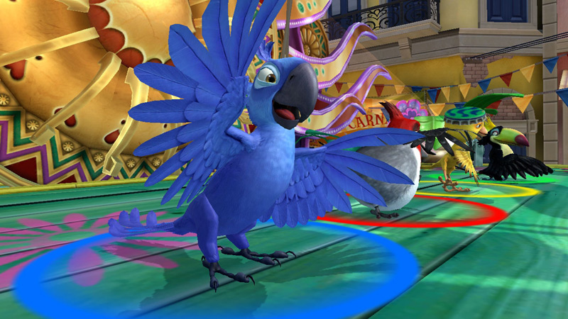 Relive the adventures of Blu the Macaw and all his friends from the