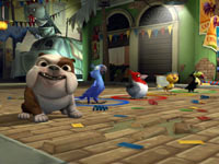 Luiz the Bulldog and the birds from Rio: The Video Game