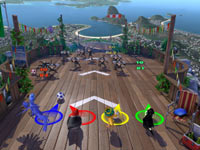 4-player soccer mini-game action from Rio: The Video Game