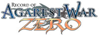 Record of Agarest War Zero game logo