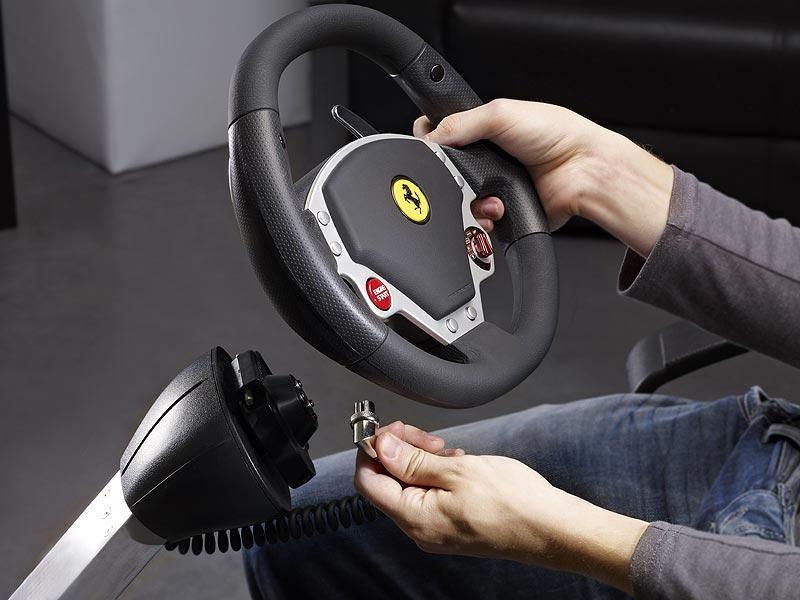 Amazon Com Thrustmaster Ferrari Wireless Gt F430 Scuderia