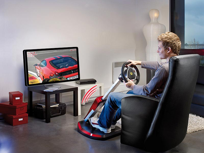 Amazon Com Thrustmaster Ferrari Wireless Gt F430 Scuderia