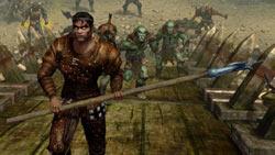 Battle using brute force and steel in 'Sacred 2: Fallen Angel'