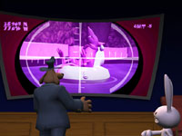 Targeting Timmy Two-Teeth in Sam & Max: Beyond Time and Space