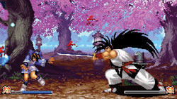 Classic samurai weapon-based fighting in 'Samurai Shodown Anthology'