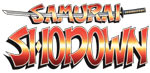 'Samurai Shodown' logo from 'Samurai Shodown Anthology'