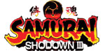 'Samurai Shodown III' logo from 'Samurai Shodown Anthology'