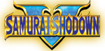 'Samurai Shodown V' logo from 'Samurai Shodown Anthology'