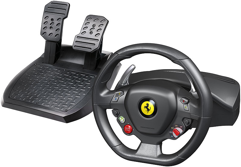 thrustmaster ferrari 458 racing wheel for xbox. Black Bedroom Furniture Sets. Home Design Ideas