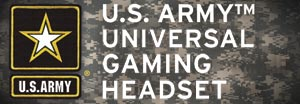 U.S. Army Universal Gaming Headset