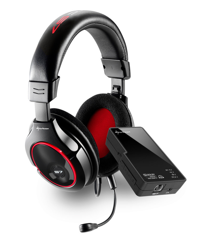Amazon.com  Sharkoon X-Tatic S7 Gaming Headset - Xbox 360  Video Games 5ad84ff692
