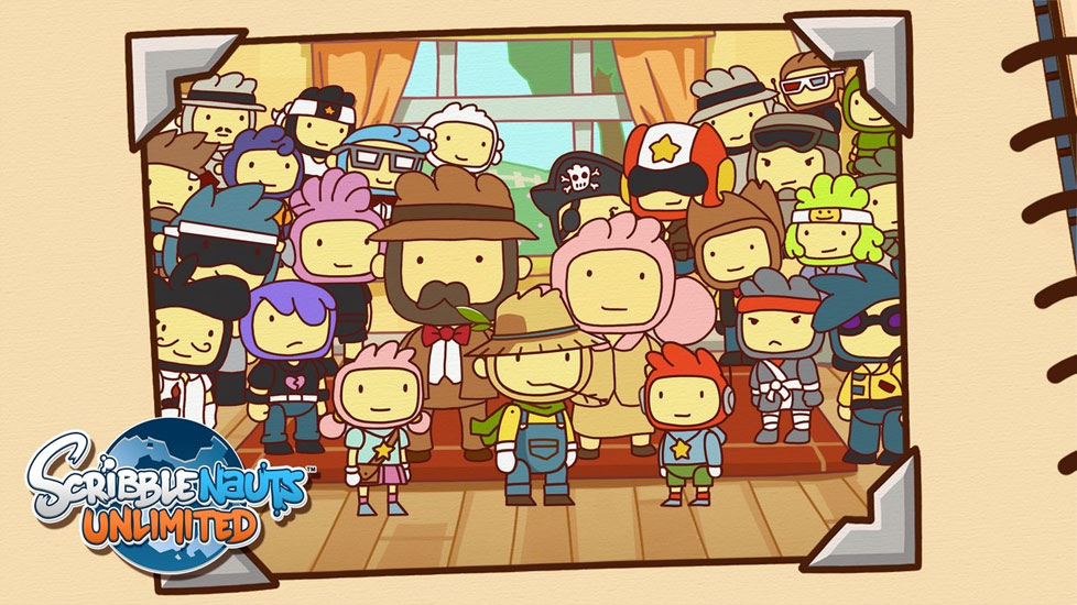 the open world gameplay of Scribblenauts Unlimited using your PC