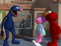 Grover, Abby Cadabby and Elmo from Sesame Street: Ready, Set, Grover!
