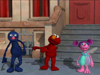 Grover, Elmo and Abby Cadabby from Sesame Street: Ready, Set, Grover!