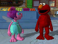 Elmo and Abby Cadabby from Sesame Street: Ready, Set, Grover!
