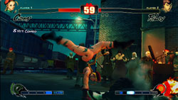 Cammy and FeiLong in 'Street Fighter IV'