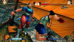 Sakura and Chun-Li in 'Street Fighter IV'