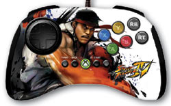 Ryu fight pad bundled with 'Street Fighter IV MadCatz Controller Bundle'