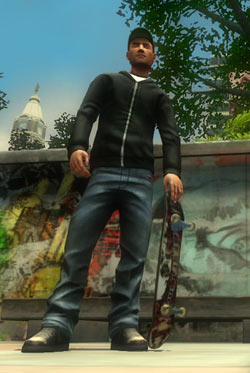 Created skater character from Shaun White Skateboarding