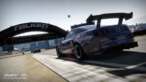 Racing from the back of the pack in Shift 2 Unleashed