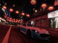 Night racing screenshot from Shift 2 Unleashed
