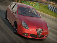 The Alfa Romeo Giulietta QV avaialable with Shift 2 Unleashed LE