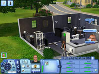 Sim house in The Sims 3 for Xbox 360