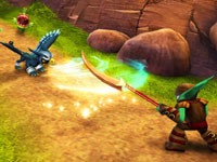 Close quarter combat from Skylanders Spyro's Adventure