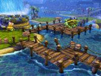 A platforming puzzle from Skylanders Spyro's Adventure