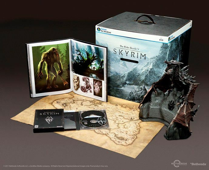 Amazon com: Elder Scrolls V: Skyrim Collector's Edition - PC: Video