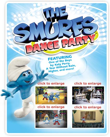 The Smurfs Dance Party: Nintendo Wii: Computer And Video